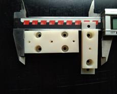держатель светодиодов  Материал полиамид 6- блочный марка «А» ТУ-6-05-988-87)